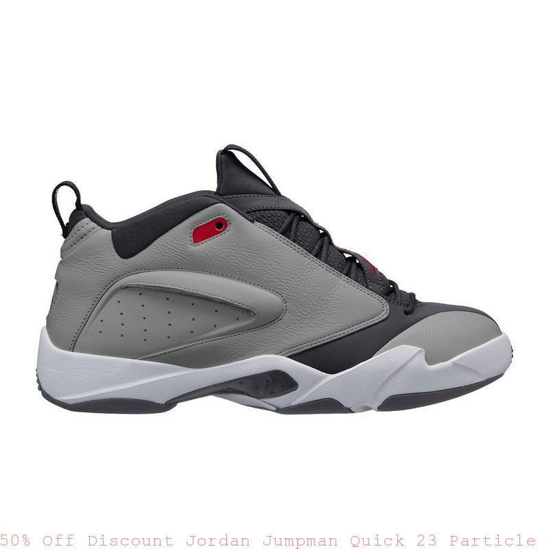 1cb6b2cfdd4c03 50% Off Discount Jordan Jumpman Quick 23 Particle Grey Mens Shoe – air max shoes  price ...