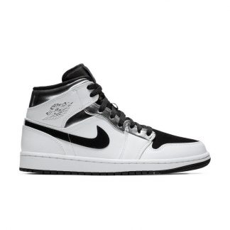 quality design a54f3 bc249 Canada Jordan 1 Mid White/Metallic/Black Mens Shoe - cheap kid jordans for  sale - Q0405