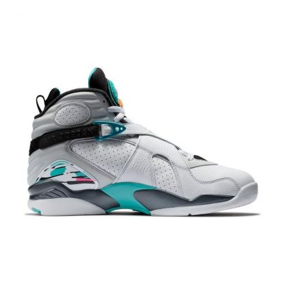 the latest 76964 09162 Cheap Jordan 8 Retro White Turbo Green Mens Shoe – cheapest air jordan  shoes online ...
