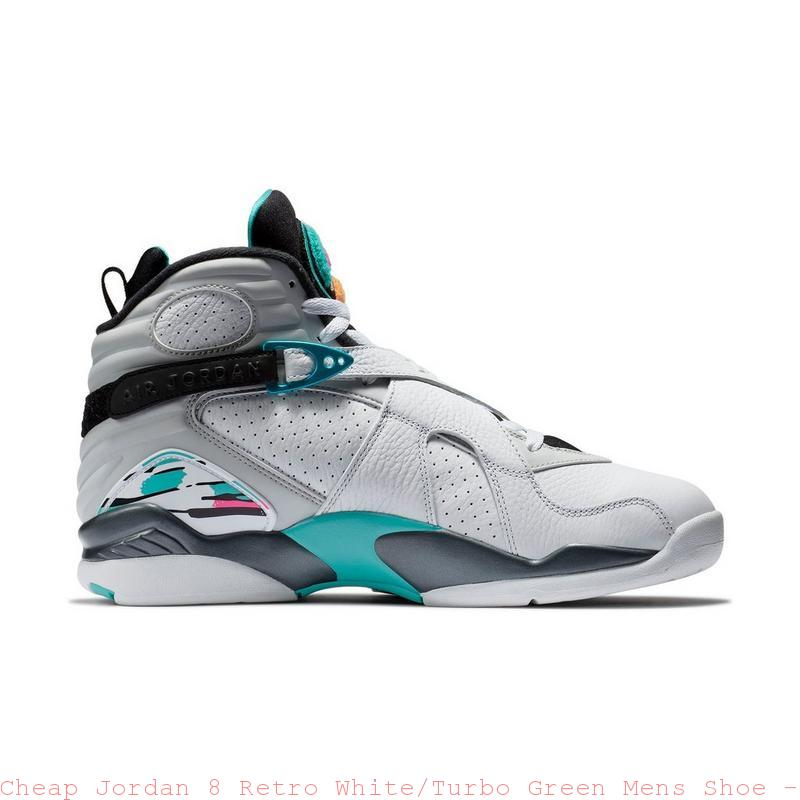 fb0deef4632c71 Cheap Jordan 8 Retro White Turbo Green Mens Shoe – cheapest air ...