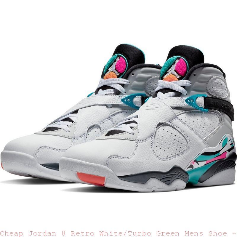 Cheap Jordan 8 Retro White Turbo Green Mens Shoe - cheapest air jordan  shoes online - Q0303 567e98b8d
