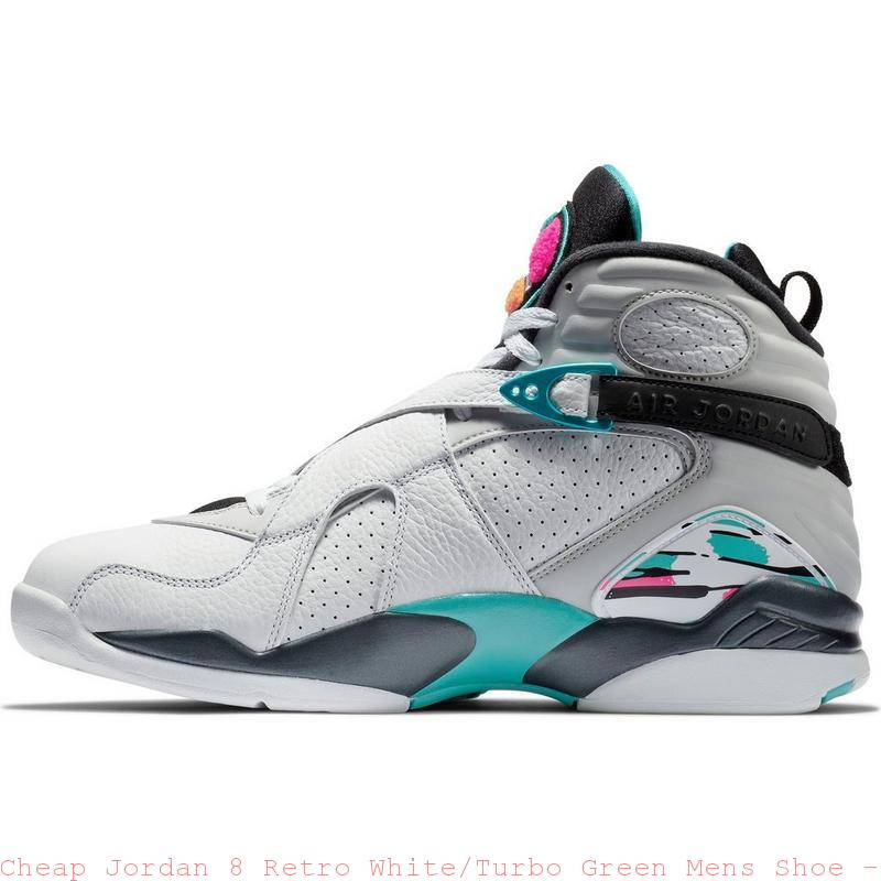 d307cacb78ff6e Cheap Jordan 8 Retro White Turbo Green Mens Shoe – cheapest air ...