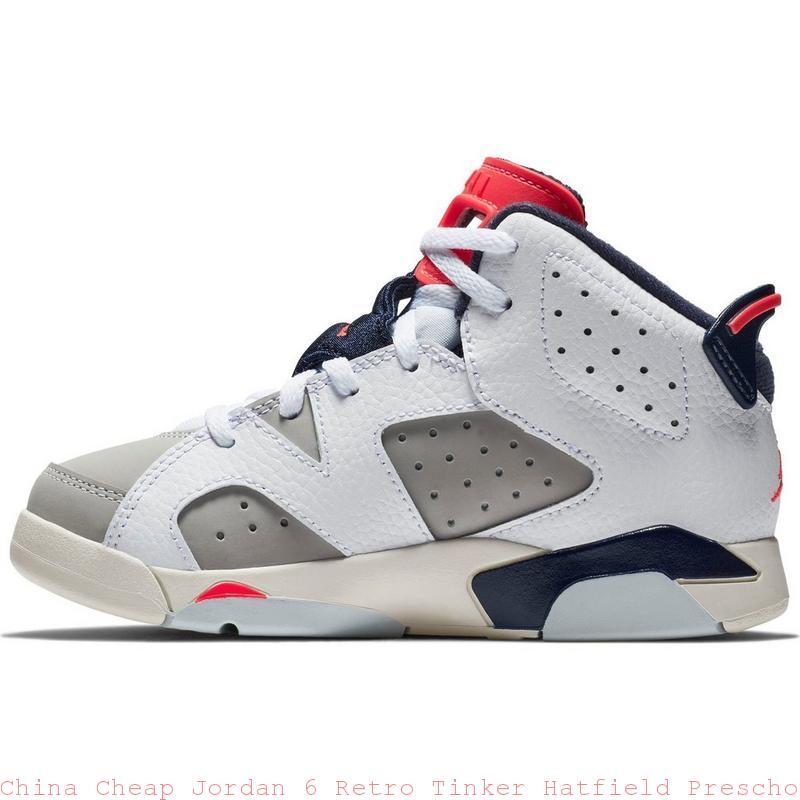 ef3ac393c7137 China Cheap Jordan 6 Retro Tinker Hatfield Preschool Kids Shoe ...