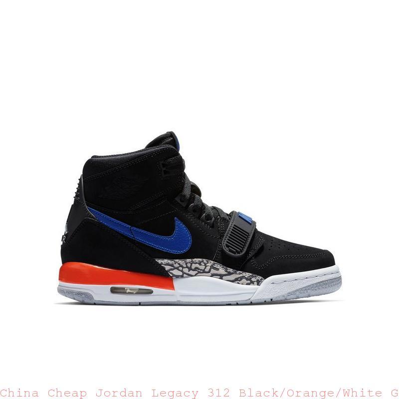 907cc0a880a China Cheap Jordan Legacy 312 Black/Orange/White Grade School Kids ...