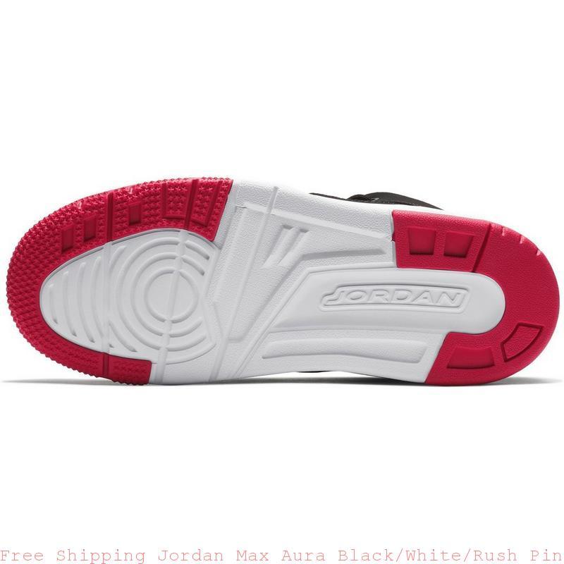 best website 6b572 0b5fa Free Shipping Jordan Max Aura Black/White/Rush Pink Preschool Kids Shoe -  air max shoes girl - S0238