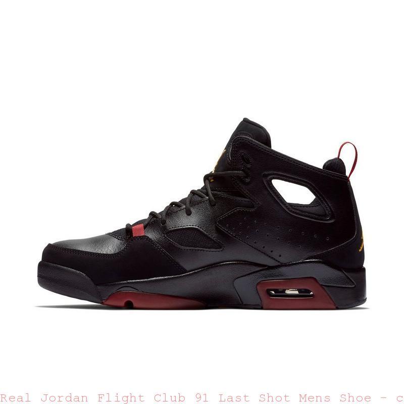 purchase cheap 17614 12801 Real Jordan Flight Club 91 Last Shot Mens Shoe ...