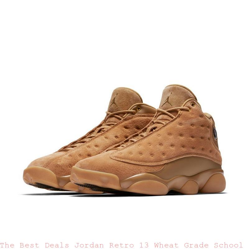 The Best Deals Jordan Retro 13 Wheat Grade School Boys Shoe cheap nike air max shoes usa R0066W