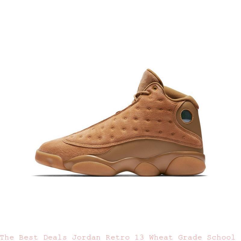 171439ac4af The Best Deals Jordan Retro 13 Wheat Grade School Boys Shoe – cheap ...
